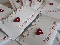 Svatební kapesníčky na slzy štěstí- bordó