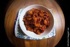 Wos zum Essn: Geschmack top, Konsistenz flop: Paneer mit Tomaten Versuch #1