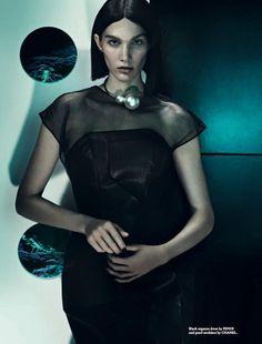 Irina Nikolaeva Seduces In Wonderland Magazine February 2014 By ThomasCooksey - 3 Sensual Fashion Editorials   Art Exhibits - Anne of Carve...