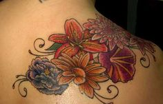 Flower Tattoo in Color