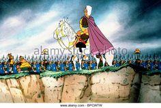 CAESAR & ROMAN ARMY ASTERIX IN BRITAIN (1986) - Stock Image