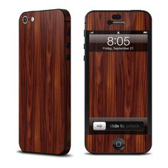 custom iphone skin sticker | iStyles Skins Phone Apple iPhone iPhone 5 Dark Rosewood iPhone 5 Skin
