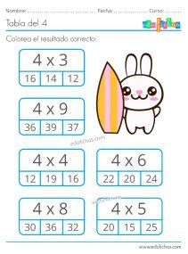 2nd Grade Math Worksheets, School Worksheets, Math Tables, Math Sheets, Numbers For Kids, Math School, Math Multiplication, Educational Games For Kids, Preschool Activities