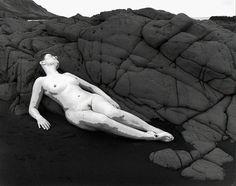 Agnieszka Sosnowska, Self Portrait. Nude, Landsendi, Iceland, 2015, Panopticon Gallery
