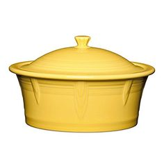 Fiesta 90 oz Covered Casserole Dish in Sunflower * Click image to review more details.(This is an Amazon affiliate link and I receive a commission for the sales) #BakeandServeSets