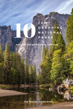 National parks are some of the most stunning places on earth. Here are 10 Beautiful National Parks In The World That Will Make Your Kids' Jaws Drop. Road Trip Destinations, Holiday Destinations, Winter Sun Holidays, Packing List For Travel, Another World, Travel Around The World, Travel Usa, Travel Inspiration, National Parks