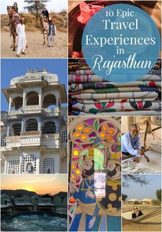 10 Epic Travel Experiences in Rajasthan - Green With Renvy | #India #travel #Rajasthan