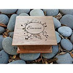 Music box, custom made music box, handmade music box, gift for daughter, gift for bride, wedding favor, personalized music box, customized gift, simplycoolgifts
