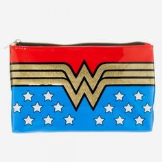 DC Comics Wonder Woman Zippered Bag Licensed