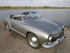 1958 Volkswagen Karmann Ghia gunmetal gray convertible