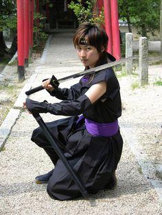 くノ一 kunoichi (female ninja)