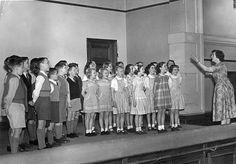 Ludworth School 1954 (Choir)