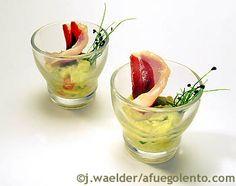 Afuegolento - Noticias y recetas de gastronomía Guacamole, My Plate, Portuguese Recipes, Snack, Buffet, Appetizers, Mexican, Ethnic Recipes, Desserts