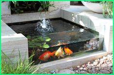 16 attractive garden pond designs that everyone should see 56 backyard ponds and water garden landscaping ideas 44 Ponds Backyard, Backyard Landscaping, Landscaping Ideas, Backyard Ideas, Garden Ponds, Small Fish Pond, Design Fonte, Fish Pond Gardens, Water Gardens