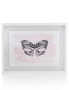 Conran Colourwash Butterfly Wall Art | M&S