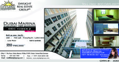 Property details: 	Dubai Marina 	DEC tower 2 	1 bedroom apartment 	BUA: 750 sq.ft. 	Low floor 	Built in wardrobe 	Covered parking space  Selling Price  AED 790000  Daylight Properties are a Property Investment Firm with an ownership of more than 200 properties all around Dubai. These are handpicked exclusive apartments and villas located within the most prestigious and high-profile developments of Dubai. We do not just believe in customer satisfaction we aim for customer delight. We…