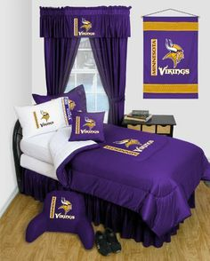 Best Quality Locker Room Comforter - Minnesota Vikings NFL /Color Purple Size Queen by American Sports. $89.95. Weight: 21 LB.. Imported.. Color: Purple. Size Queen. Get the true on-field look of your team with Locker Room Comforter - Minnesota Vikings NFL /Color Purple Size Queen, You'll be representing your Minnesota Vikings team, and be surrounded with that NFL special pride even in your cozy home....This Locker Room Comforter - Minnesota Vikings is Comforter Full/Quee...
