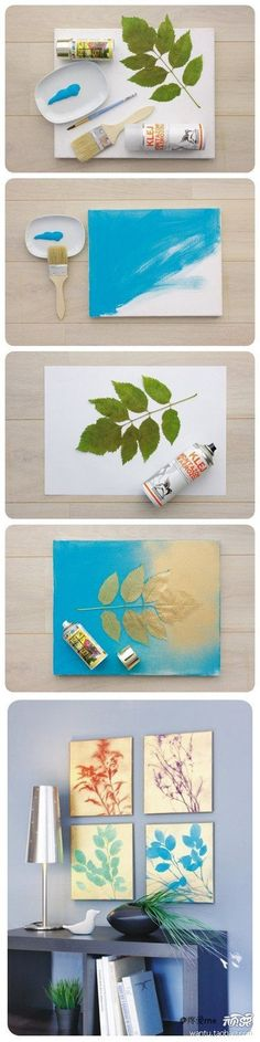 DIY Simple Decorative Painting DIY Projects / UsefulDIY.com on imgfave