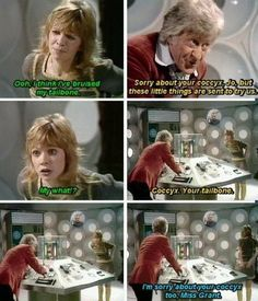 Miss Grant, Jon Pertwee, Classic Doctor Who, Zoom Call, Dr Who, Tardis, Shit Happens, Best Hug, Twitter