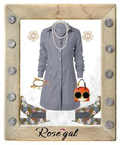 """""""Seriously Fun!"""" – created by CzeCze.  Entered in the """"How to style shirt dresses"""" contest, """"Express your Style!!!"""" group.  ROSEGAL EXTRA $30-$3,$50-$5,$100-$10 SITE WIDE CODE: ROSEPS2017 ( end: 31st March) http://www.rosegal.com/shirt-dresses/shop/?id=6402843"""