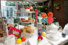 Charlie and the Chocolate Factory Tea at the Chesterfield Mayfair