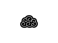 Brain cloud by George Bokhua  2 graphics in one, awesome.