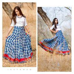 Long Skirt Fashion, Long Skirt Outfits, Boho Outfits, Anarkali, Lehenga, Sarees, Kurti Designs Party Wear, Kurta Designs, Indian Dresses