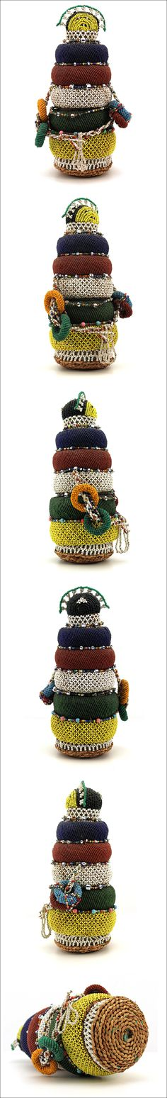 Ndebele Dolls, from South Africa