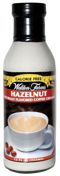 Walden Farms Coffee Creamer sweet cream flavor is good and no calories or carbs!!!!!!