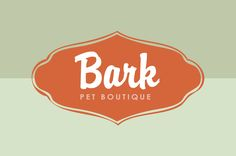 Pet Boutique Logo Template - A pet supplies boutique or grooming salon could utilize this upscale and playful logo for marketing materials.