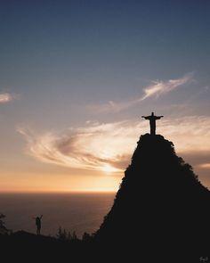 Christ The Redeemer, Rio 2016, Celestial, God, Sunset, Outdoor, Dios, Outdoors, Allah