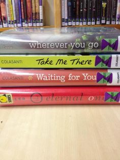 Spine poetry (from Port Jefferson library)