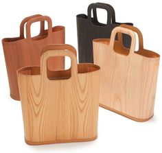 Bolsas de madeira