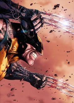 Wolverine by Marcos Martins Arte Dc Comics, Marvel Comics Art, Marvel Heroes, Wolverine Art, Logan Wolverine, Wolverine Tattoo, Comic Art, Comic Books Art, Marvel Comic Universe