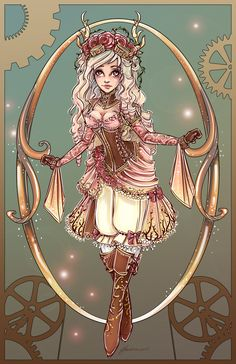 another fairytale character to go with my steampunk verions <3  s a note this is not based off of Disney's version so there will be no Maleficent since that version is Disney's. I am doing ...