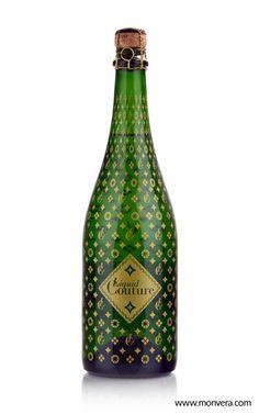 Liquid Couture bottle designed for Vinum Cellars by| Monvera Glass