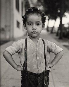 """Girl with Curlers, Los Angeles, 1949"" by Ida Wyman"