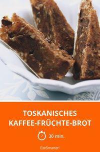 Toskanisches Kaffee-Früchte-Brot | Die neue Idee für die Kaffeetafel - Fertig in 30 Minuten.