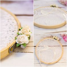 Brautgürtel - Alternativ ringkissen - ein Designerstück von HappyWeddingArt bei DaWanda