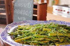 Roasted Asparagus and Peas - Ree Drummond, The Pioneer Woman