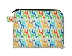 Hey, I found this really awesome Etsy listing at https://www.etsy.com/listing/203163023/mini-giraffe-rainbow-zipper-pouch-small