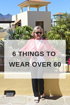 Style tips and advice for what to wear over 60. #fashionadvice #styletip #fashionover50 #styleover60 #over60fashion #fashionstyle #casualstyle