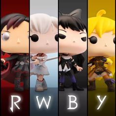 Funko Pop Figures, Rwby, Google Images, Mickey Mouse, Disney Characters, Fictional Characters, In This Moment, Rocket Raccoon, Anime