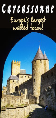 Discover Carcassonne, Europe's largest medieval site and one of France's most visited destinations alongside Paris and Mont-Saint-Michel. If you're fond of the medieval era, you're for a treat! . . . #Carcassonne #Occitania #Aude #France #FrenchMoments Most Visited Sites, French Castles, Mont Saint Michel, Taj Mahal, Medieval, Louvre, Europe, The Unit, Good Things