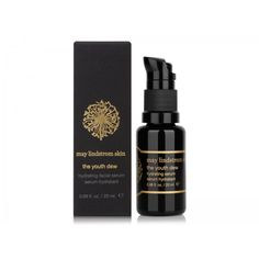 The Youth Dew Hydrating Facial Serum from May Lindstrom Skin.  With avocado oil, meadowfoam seed oil & jojoba.