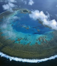 The Cool Hunter - Amazing Places To Experience Around the Globe (Part Lady Musgrave Island, Great Barrier Reef, Australia What A Wonderful World, Beautiful World, Beautiful Places, Amazing Places, Beautiful Scenery, Amazing Photos, Amazing Things, Beautiful Pictures, Beautiful Dream