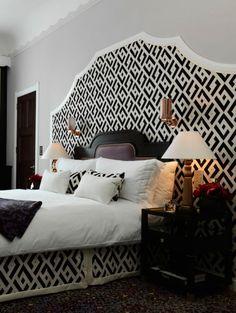 10 hotelkamers die ontworpen zijn door modeontwerpers