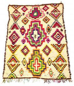 Tapis Kilim Marocain Berbère Azilal 205 x 145 cm