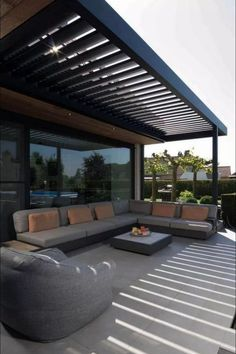 Creative Deck Patio Design you must try 35 ., Creative deck patio design to try 35 RealHomeSimple.Com When historic throughout idea, this pergola may be enduring a bit of a modern rebirth all these days. A classy backyard animal s. Backyard Patio Designs, Pergola Designs, Pergola Ideas, Pergola Kits, Pergola Plans, Landscaping Ideas, Deck Design, Terrace Ideas, Backyard Seating