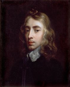John Milton (born 9 December 1608, died 8 November 1674) in a painting likely dating to the late 1630s, in Christ's College, Cambridge